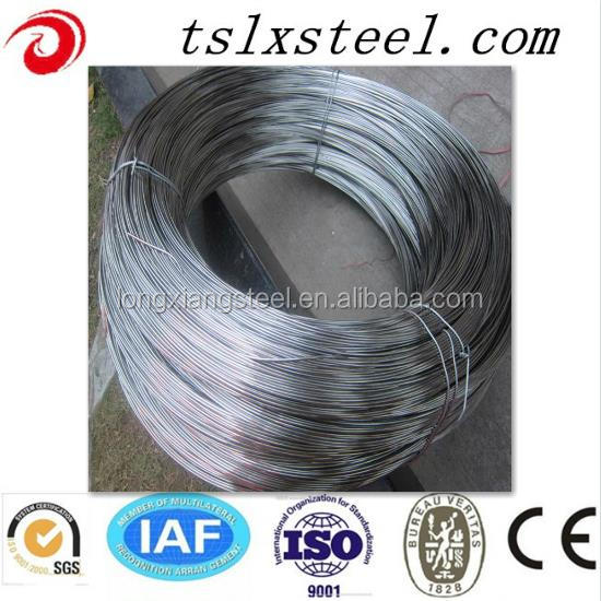 Tangshan factory price ms q195 wire rod in coil hot sale