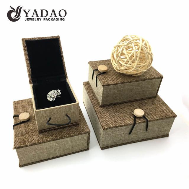 Leatherette Gift Storage Case acrylic jewelry display box