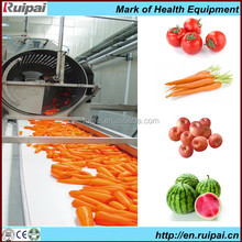 Automatic canned fruit jam / fruit pulp production process line