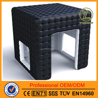 2016 Best selling inflatable square cube/inflatable advertising tent