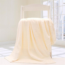 Plus thick cotton 70*140cm bath towel reactively dying soft bath towel