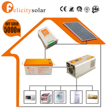 Factory price quality assurance 5000w home wind solar hybrid power system for Brunei