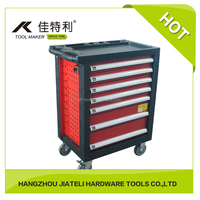 ROLLER CABINET SET FOR 7 DRAWERS 185PCS AUTO REPARI TOOLS SET