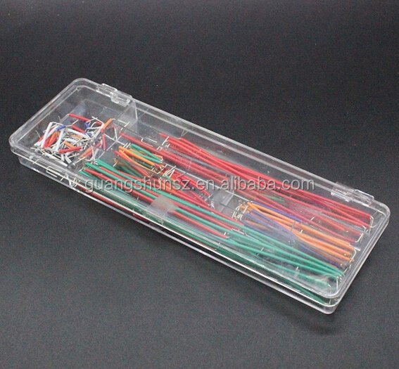 140 pcs U Shape Solderless Breadboard Jumper Cable Wire Kit For raspberry pi