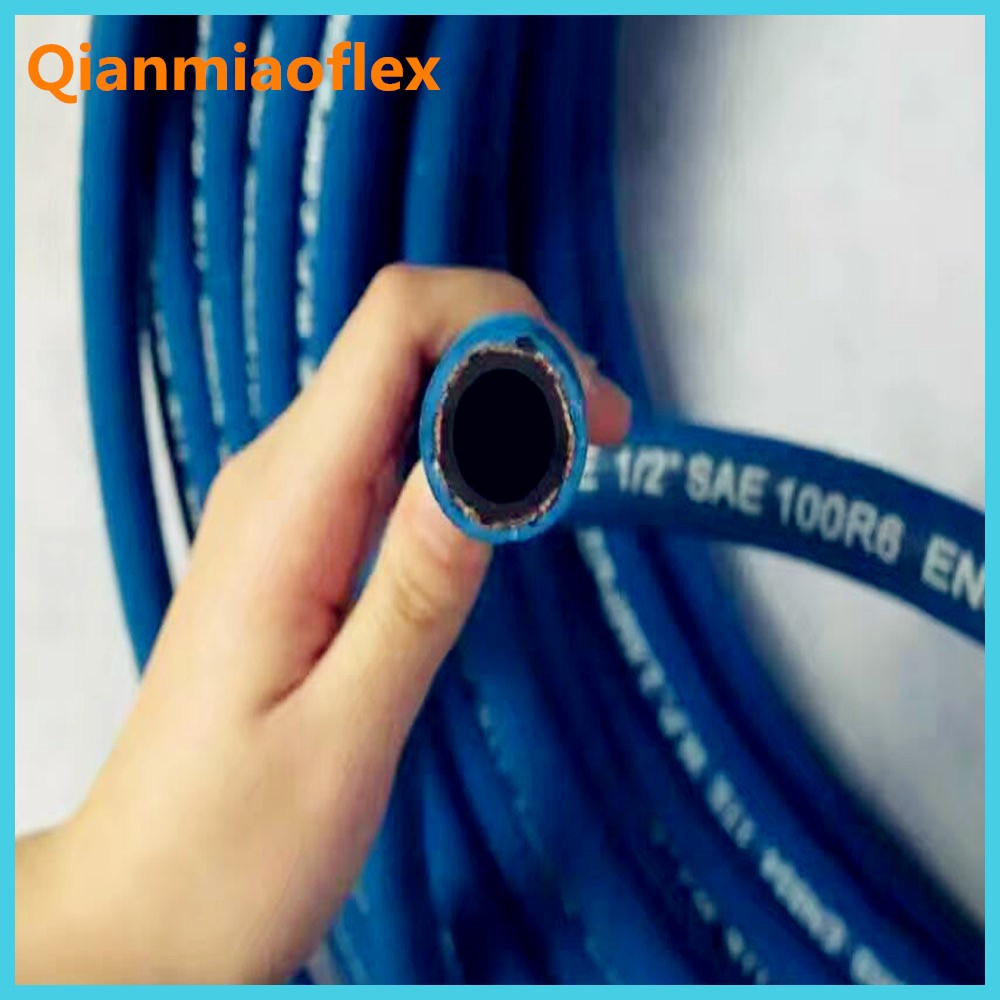 3 inch flexible rubber hose EN854 SAE100 R6 for South America