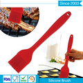 BPA free various color Heat resistant BBQ baking oil sauce silicone cooking brush