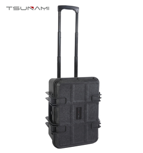 Tsunami No.473321 transport case hard plastic tool box with wheels