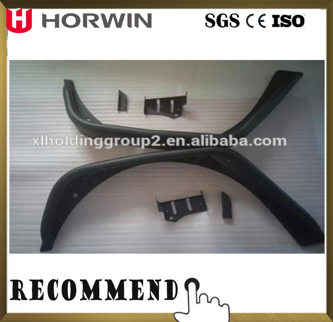 Aluminum Magnisium Alloy horwin fender flare for Jeep Wrangler JK 2007+ car accessories