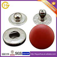 For baby clothing fancy design press button with hook