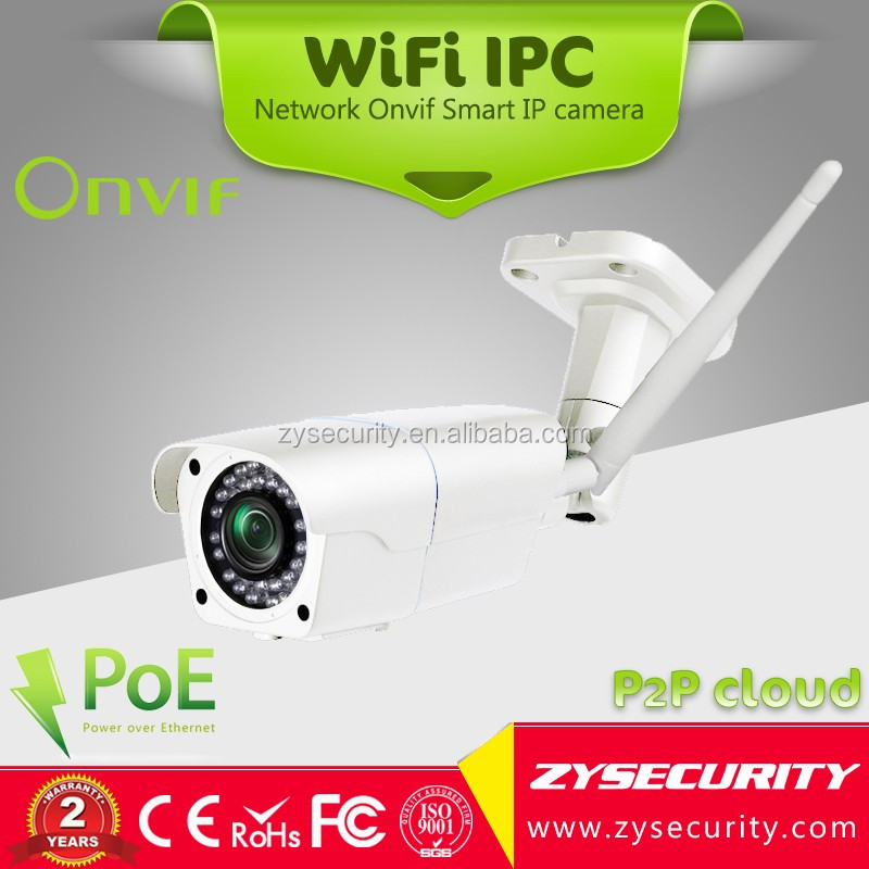 "Unique design 1/4"" OV9712 720P 1MP <strong>wifi</strong> IP67 Waterproof bullet Onvif 5-50mm Varifocal motion detectin email alarm <strong>wifi</strong> IP camera"