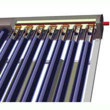 Best sale project reinforce frame parabolic trough evacuated tube heat pipe solar collector U Pipe Solar Thermal Collector