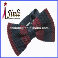 Factory wholesale small pre made knitted accessory bows