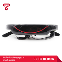 72 inch virtual reality glasses VG320A,Support video+music+E-book+picture+ USB2.0 +AV-IN