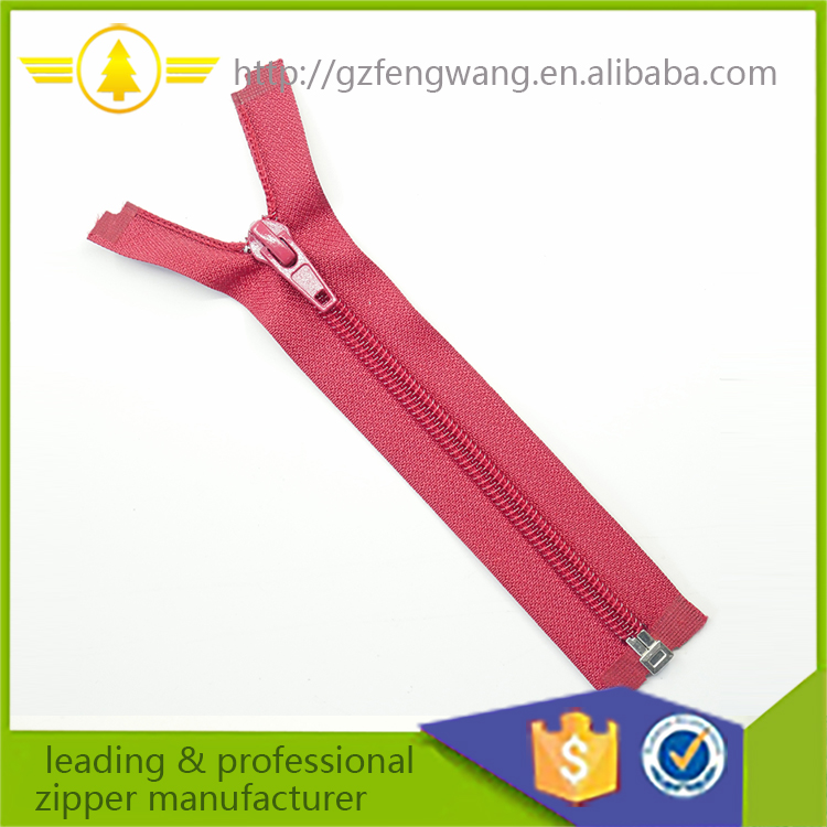 custom printed eco friendly long chain nylon zipper