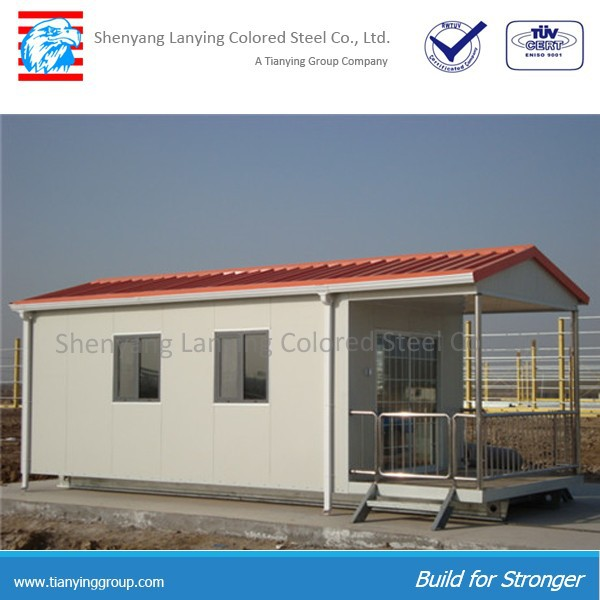pu sandwich panel prefab houses easy assemble