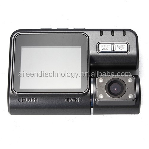 2 Inch HD 720P Car DVR Dual Camera Car DVR