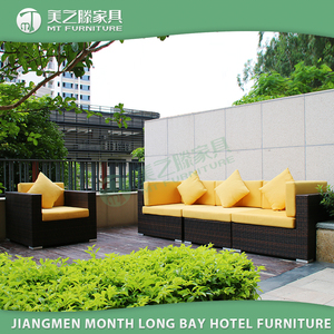 Luxury Durable Easy Cleaning Cebu Sectional Garden Furniture Outdoor Furniture Rattan