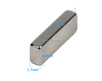 15*5*3mm Super Strong N35 Block Square Magnets Rare Earth Neodymium For Power Tool