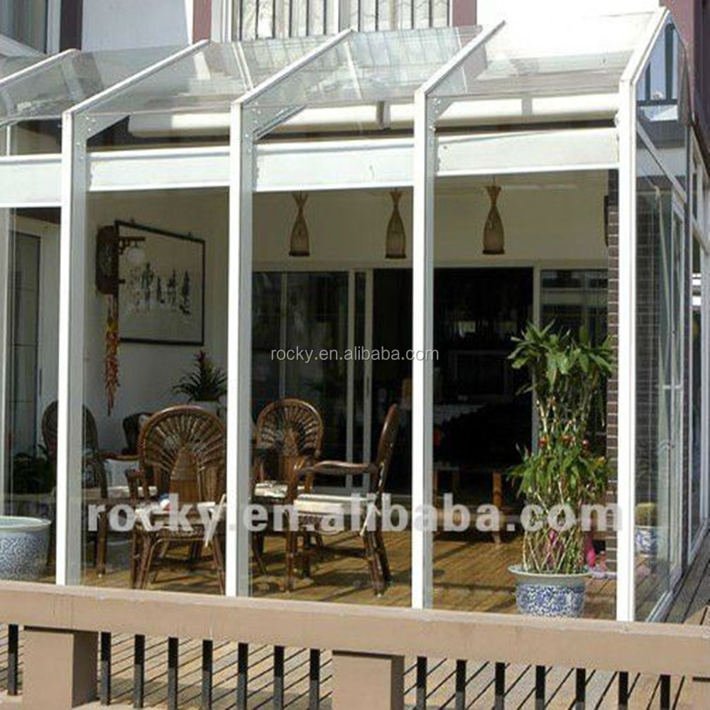 Qingdao Rocky high quality best price insulated glass rooms sunlight room