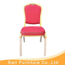 furniture used banquet chairs modern armrest hotel chair with rubber feet
