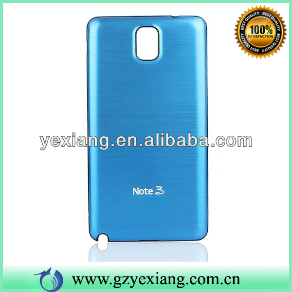Cell Phone Drawbench Battery Cover Metal Case For Samsung Galaxy Note 3