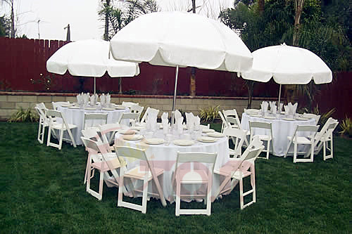 Party Chairs and Tables