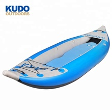 KUDO OUTDOORS Hot Selling Inflatable Water Rowing Boat Kayak For 2 Persons