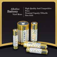 Pro-Environment 720mAh Nominal Capacity 1.5V NO. 7 AAA Alkaline Battery, AAA Battery