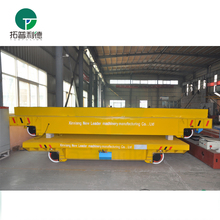 Large Capacity steel factory rail guided transporters carried steel coil on rails