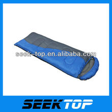 outdoor adult envelope 3 season hollow fibre sleeping bag