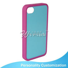 New Arrive Blank 2D Phone Case Cover Sublimation 4.5 inch phone case For Iphone 4