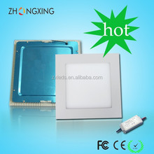 2835smd small square LED Panel Light 15w dimmable