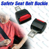 2 Pieces Car Auto Safety Seat Adjustable Belt Lock Buckle