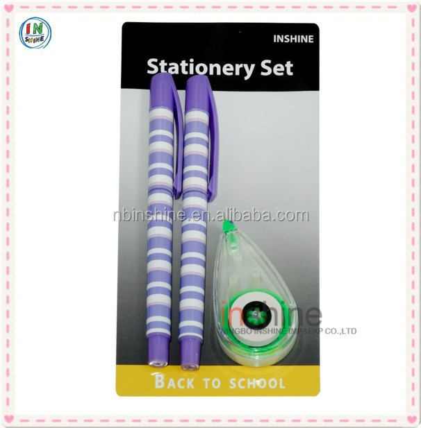 Stationery items for office,school supplies , the latest products office stationery set