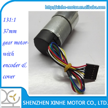 12 dc gear motor 37mm with encoder high quality variable geared motors