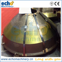 5.5ft Symons cone crusher spare wear parts socket liner/bowl liner/concave and mantle with foundry price