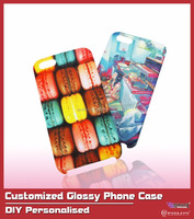 2016 Cheapest DIY Personalised Customized Glossy Phone Case For Iphone 5/5s/6/6 plus