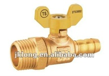 J2039 high quality brass ball gas control valve