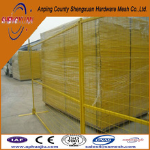 temporary vinyl fencing / temporary fence gate / portable iron fence