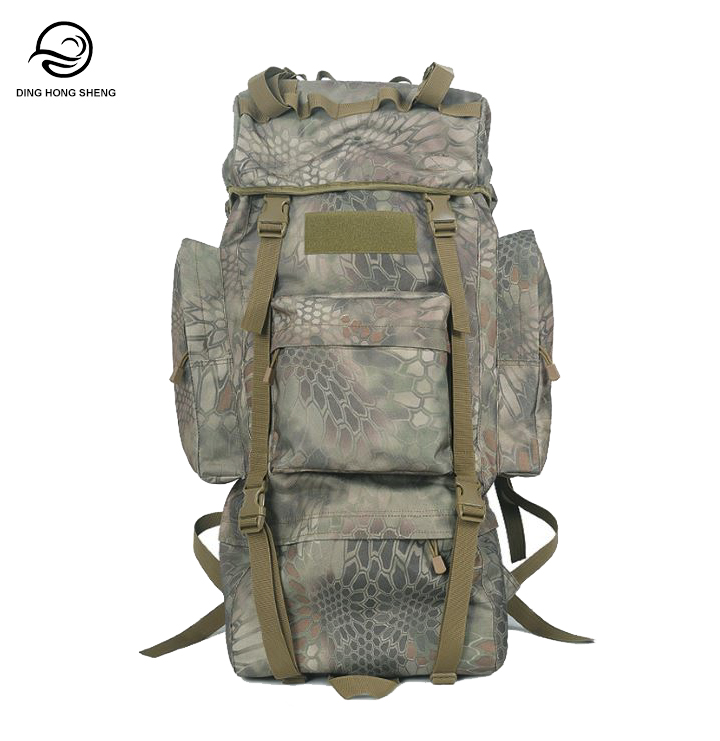 70L Multifunctional Military Assault Army Back Pack With Large Capacity