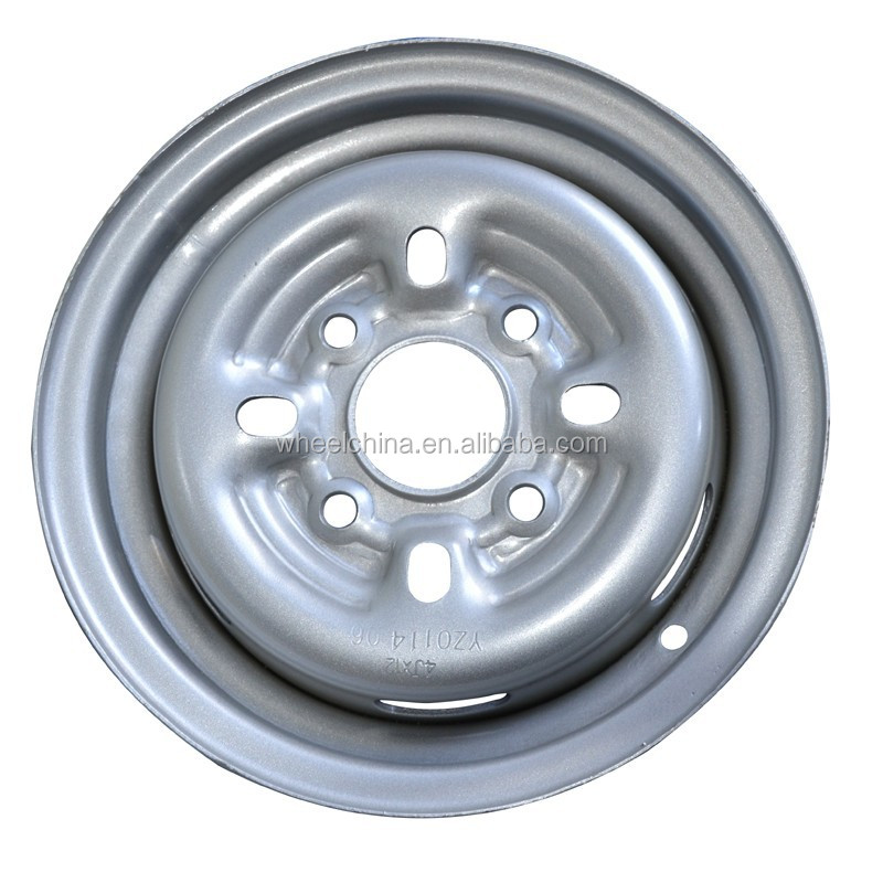 steel wheel rims 4Jx12 for three wheel motorcycle
