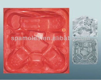 the new style vacuum spa mold with fiber reinforce plastic