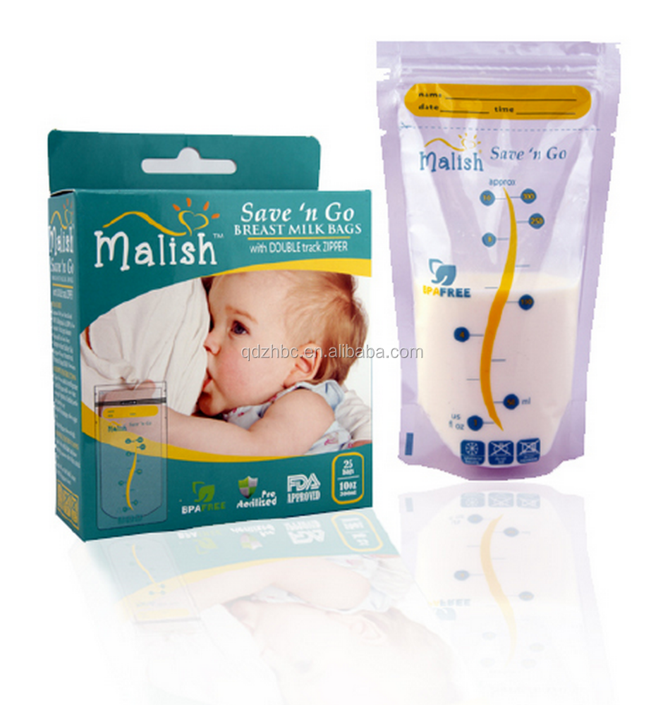 FDA approved breast milk storage bag breastmilk pouch