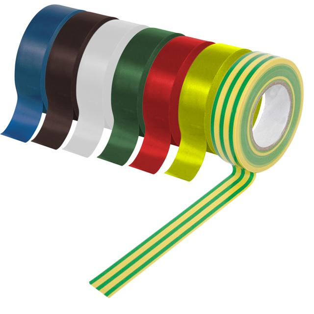 PVC electronical customized adhesive tape masking colorful pvc electrical insulation tape