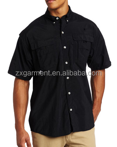 Fishing Shirt Black