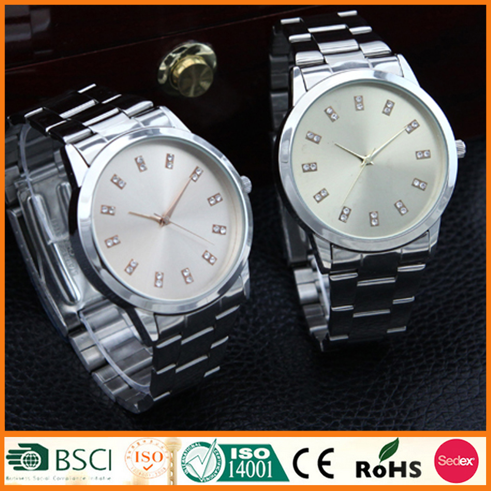 Business Wrist Watches Unisex Japan Movement Quartz SR626SW Stainless Steel Band