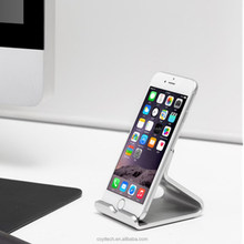 Universal Mobile Phone Stand Holder Aluminum Metal Desk Bracket Holder For iPhone 6 6S 7 7 Plus For iPad Air 2 mini 2 3 4 Stand