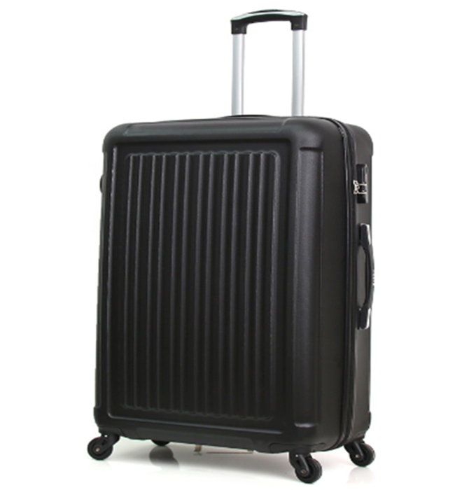<strong>ABS</strong> or PC material colorful luggage suitcase with different size OEM customer Factory