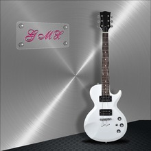Customized design and production sakura electric guitar