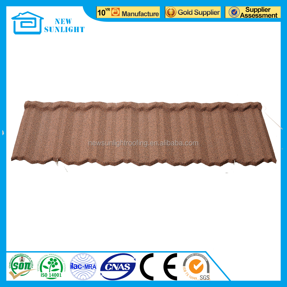China good quality different types of roof tiles french roof tile factory